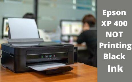 Epson XP 400 not printing
